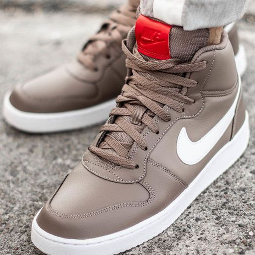Nike Ebernon MID, kolor brązowy