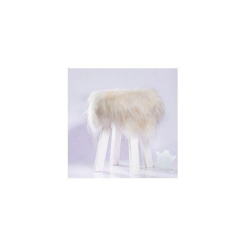 Ekskluzywne krzesło dekoracyjne z futrem [ID24]