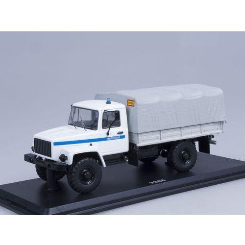SSM GAZ-3308 4×4 Flatbed Truck Police (4600001011546)