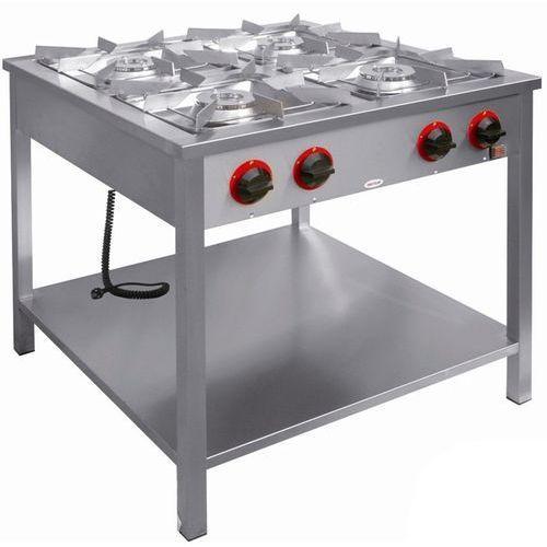 Kuchnia gazowa 4-palnikowa z półką  tg-4724.ii marki Egaz