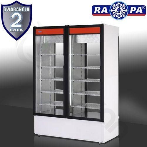 Szafa chłodnicza dwustronnie przeszklona RAPA SCh-2S 1400