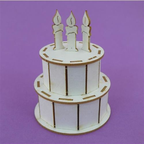 Tort urodzinowy 3D
