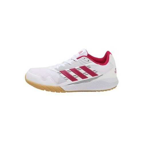 adidas Performance ALTARUN Obuwie do biegania treningowe white/bold pink/mid grey