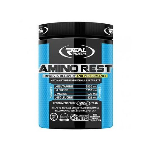 Real pharm amino rest - 300tabs (5902444701183)