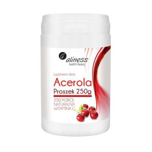 Acerola w proszku 250g – Witamina C lewoskrętna - proszek witaminy i minerały