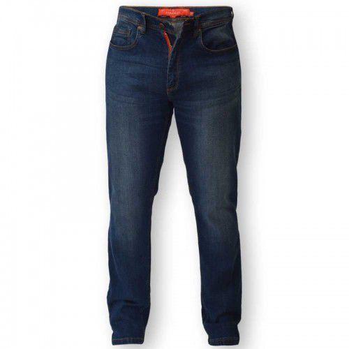 D555 guy duże jeansy męskie marki Duke