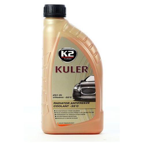 K2 Płyn do chłodnicy kuler longe life - pomarańczowy 1 litr -35°c