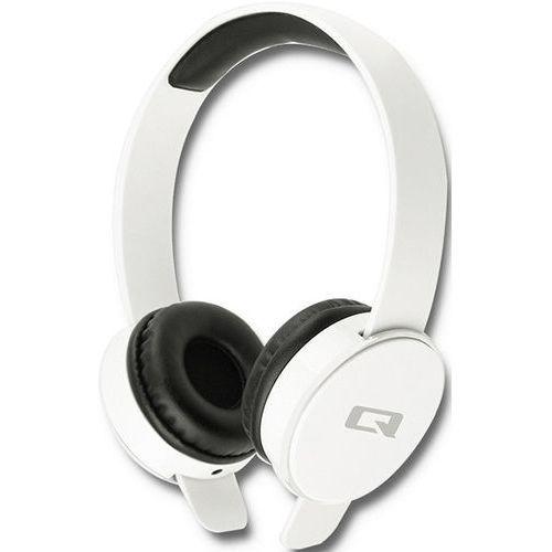 Słuchawki nauszne Qoltec 50824 kolor biały- natychmiastowa wysyłka, ponad 4000 punktów odbioru!
