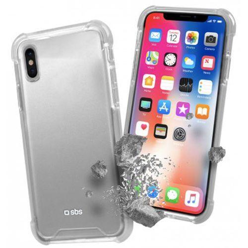 Etui hard shock cover apple iphone x przezroczysty tecovershockipxt marki Sbs