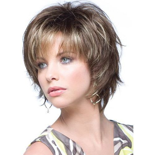 Short Curly Side Bang Towheaded Wig - produkt z kategorii- Treski i peruki