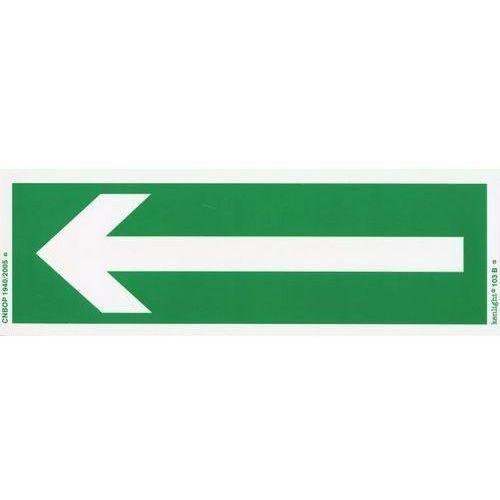 Znak Kierunek drogi ewakuacyjnej