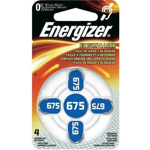 Energizer Bateria słuchowa zinc 675 /4 szt. blister (7638900349252)