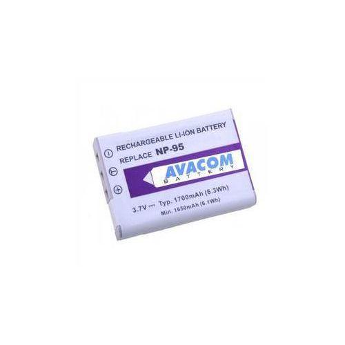 Avacom Bateria do notebooków  pro fujifilm np-95, ricoh db-90 li-ion 3.7v 1700mah (difu-np95-351)