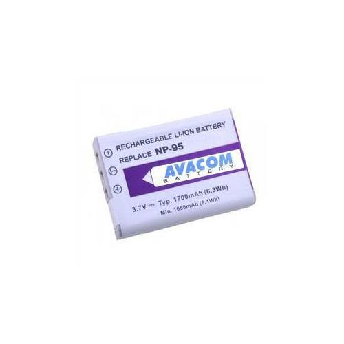 Bateria do notebooków  pro fujifilm np-95, ricoh db-90 li-ion 3.7v 1700mah (difu-np95-351) marki Avacom