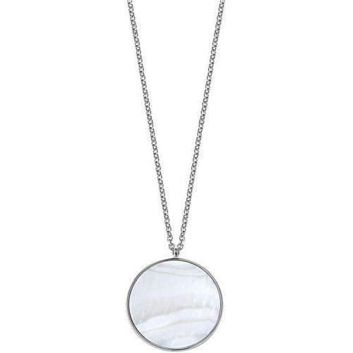 Morellato Delikatny naszyjnik ze srebra Perfetta SALX02 srebro 925/1000, kolor pomarańczowy
