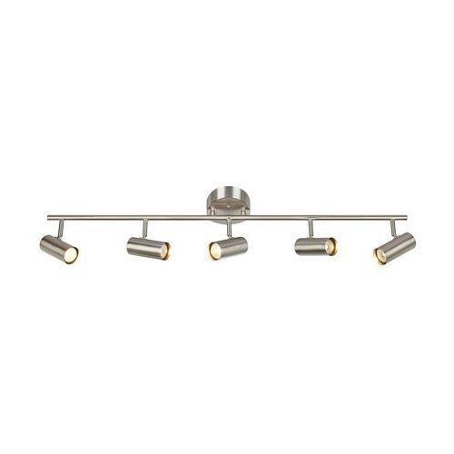 Markslojd Lampa sufitowa barcelona 107353 metalowa oprawa listwa spot regulowane tuby stalowe (7330024577916)