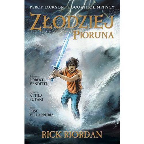 Złodziej Pioruna Percy Jackson i Bogowie Komiks, Galeria Książki