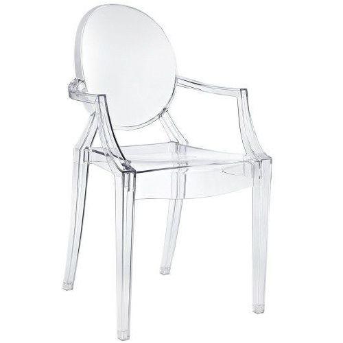 Krzesło duch - inspiracja proj. louis ghost marki Design town