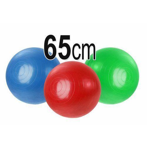 Piłka gimnastyczna rehabilitacyjna do ćwiczeń 65cm z kategorii Piłki i skakanki
