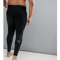 adidas PLUS Training Compression Tights In Black CF7339 - Black, kolor czarny