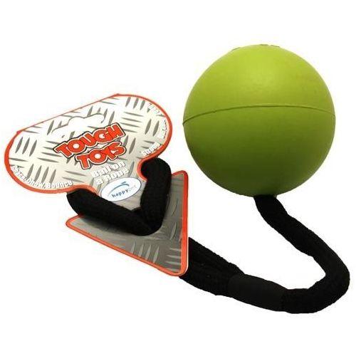 Mocna piłka z przymocowanym sznurem marki Tough toys