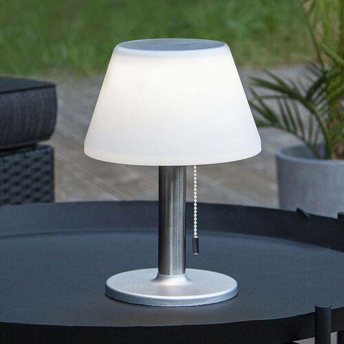 Star trading Solarna lampa stołowa solia włącznik pociągowy