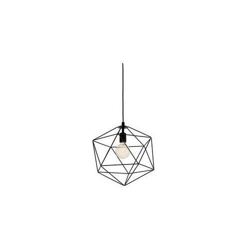 Kaspa - Lampa wisząca Wire M - czarna