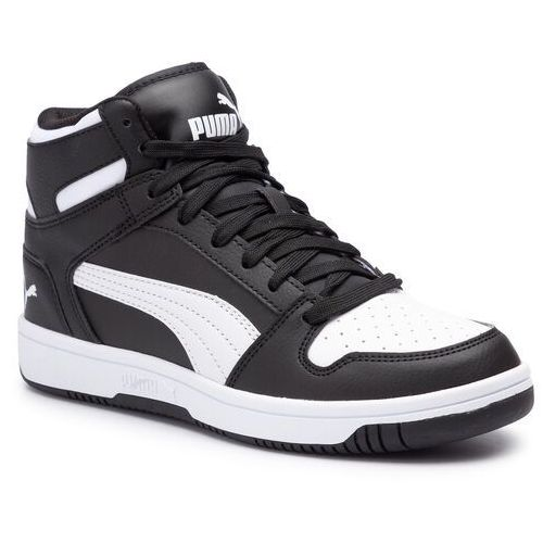 Sneakersy PUMA - Rebound Layup Sl Jr 370486 01 Puma Black/Puma White, kolor czarny