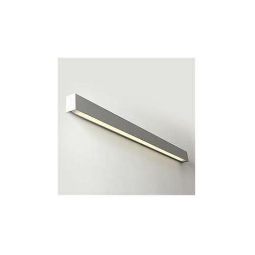 Lampa ścienna line wall led m - srebrny marki Customform