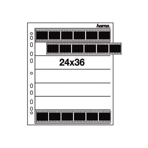 Hama 24x36/ 100 szt. koszulki pergaminowe na filmy małoobrazkowe