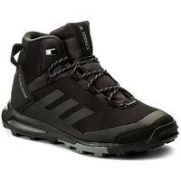 Adidas Buty - terrex tivid mid cp s80935 cblack/cblack/grefou