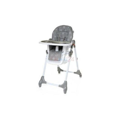 4baby krzesełko do karmienia decco szare