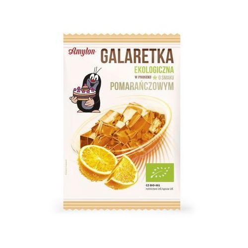 Amylon: galaretka pomarańczowa BIO - 40 g z kategorii Galaretki, kisiele, budynie