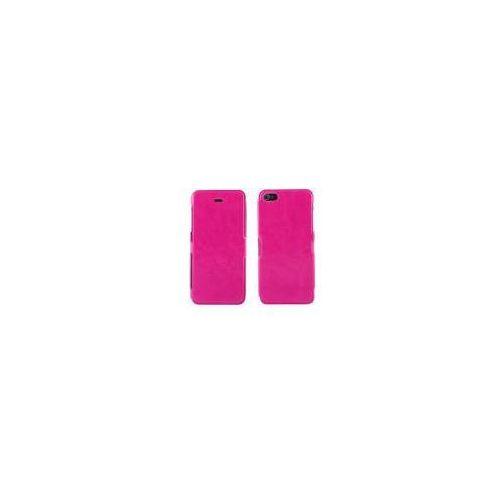 ADVANCED ACCESSORIES Etui FOLIO FLIP Ultra Slim dedykowane do Apple iPhone SE/5S/5 - różowe Odbiór osobisty w ponad 40 miastach lub kurier 24h - produkt z kategorii- Futerały i pokrowce do telefonów