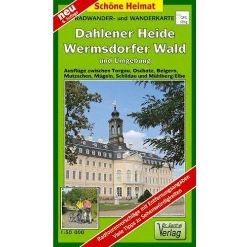 Doktor Barthel Karte Dahlener Heide, Wermsdorfer Wald und Umgebung (9783895910357)