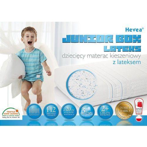 Hevea Materac kieszeniowy  junior box lateks 160x80 + poduszka 45x45 gratis!!