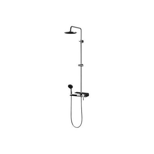 Kolumna prysznicowa Fiber Corsan czarna (5902767640589)