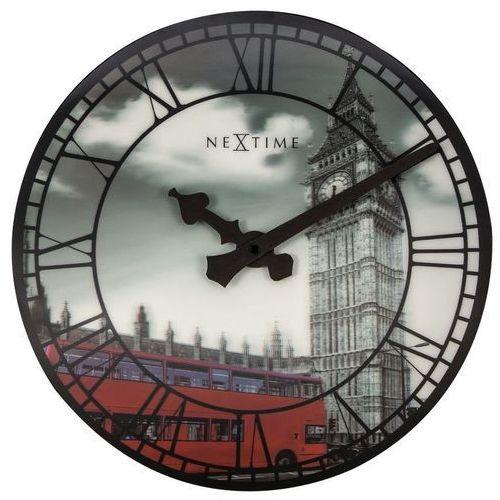 - zegar ścienny z materiału soczewkowego big ben marki Nextime