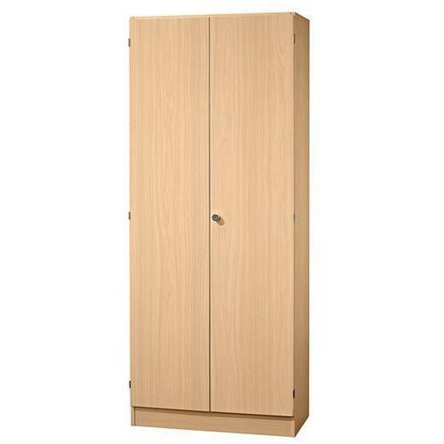 Hammerbacher Fino - szafa na akta, 4 półki, wys. x szer. x głęb. 2004x800x420 mm, imit. buku.