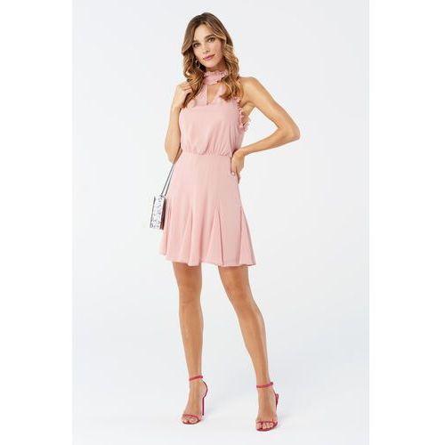 Sukienka bellis w kolorze różowym marki Sugarfree