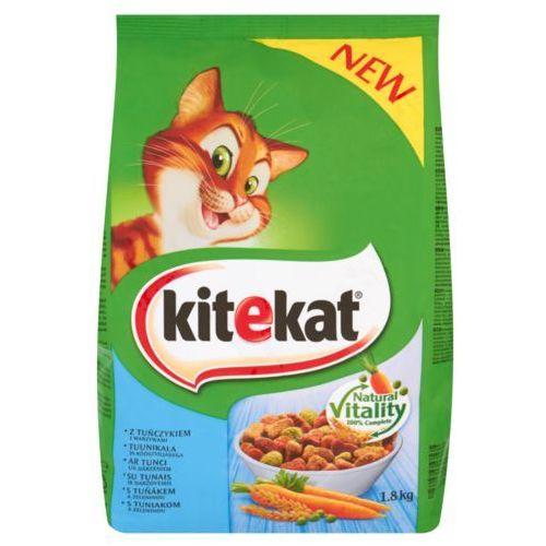 Mars Kitekat z tuńczykiem i warzywami karma pełnoporcjowa 1,8 kg (5900951137891). Najniższe ceny, najlepsze promocje w sklepach, opinie.