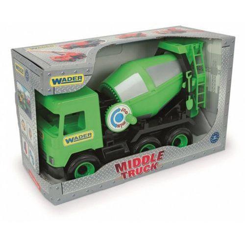 Betoniarka zielona Middle Truck w kartonie (5900694321045)