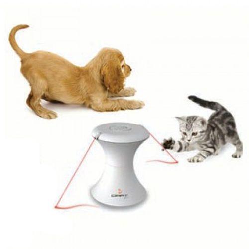 Laserowa zabawka interaktywna dla psów i kotów FroliCat Duo