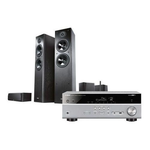 Kino domowe  rxv 381t/ns51/nsp51 czarny marki Yamaha