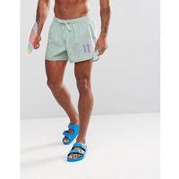 11 Degrees swim shorts in pastel mint - Green, w 3 rozmiarach