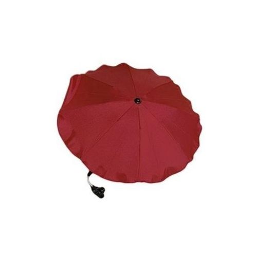 Parasolka do wózka bordowa