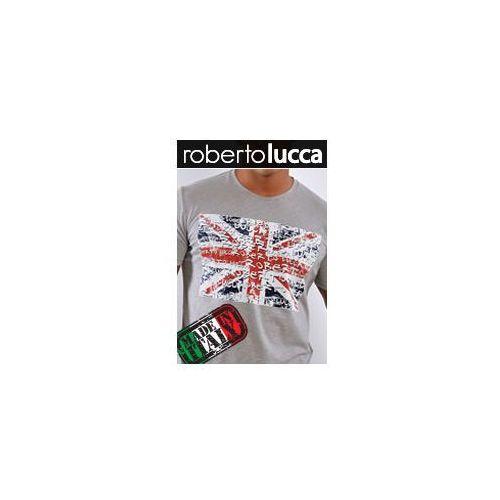 Koszulka rl1301044 grey / lucca uk, Roberto lucca