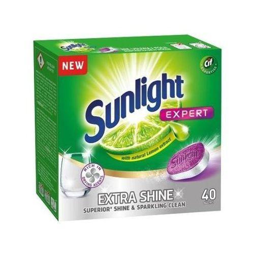 Unilever Sunlight tabletki do zmywarek extra shine 1 op.-40szt