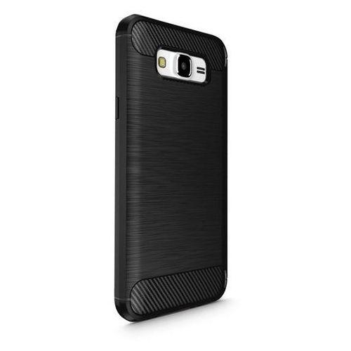 TECH-PROTECT TPUCarbon Black | Obudowa dla Samsung Galaxy J7 2016, kolor czarny