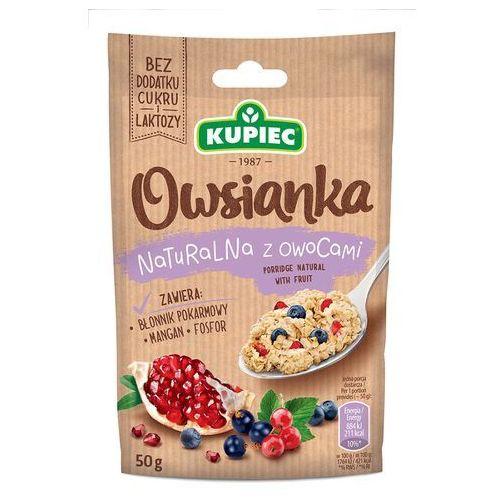 Owsianka naturalna z owocami 50g (bez dodatku cukru i laktozy)